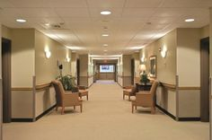 Photography by © Randall Perry Photography; The Sitrin Healthcare Center; a good example of the residential model.