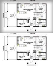 SENDOM.PL - Producent domów drewnianych Floor Plans, House Floor Plans