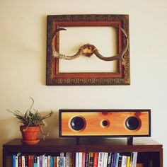Reclaimed Wood Bluetooth Speakers - Handmade from Ebony Stained Pine and Reclaimed Redwood - FREE...