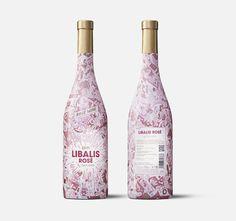 #WineWednesday #packaging #inspiration.  Pink!!