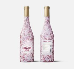 #WineWednesday #packaging #inspiration.  Pink!!