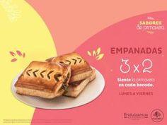 El Globo: 3x2 en empanadas de lunes a viernes.
