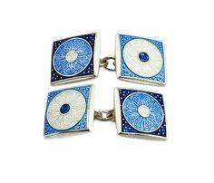 Square Sun Chain Cufflinks, £194.00