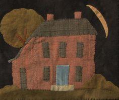 Tavern house. I love the skinny slice of moon!