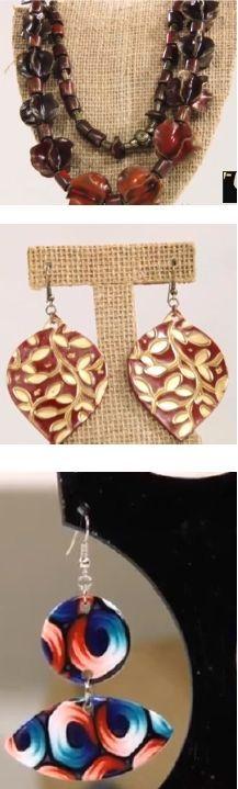 Polymer Clay - Bijuterias com cerâmica plástica - Seções da revista - Site da Rede Social da Revista Joias & Design
