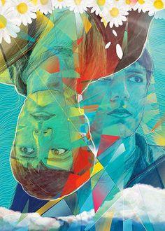 "Ilustración de ""Revés"" de Cafe Tacuba, exposición: Seguimos siendo."