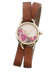 Accessorize Double Strap Watch