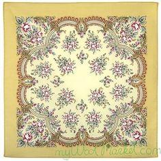Multicolor cotton shawl for women