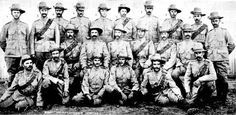 The Victorian Bushmen's Corps - Non-Commissioned Officers 1900