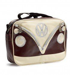 Camper Deluxe Shoulder Bag-Chocolate
