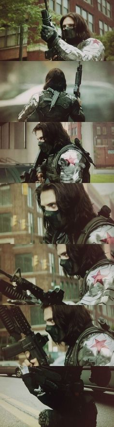 The Winter Soldier......saw it yesterday, in my opinion the best Marvel movie yet. Loved it.