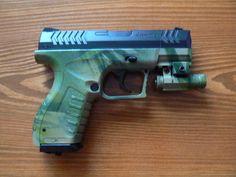Umarex XBG + laser  camuflage