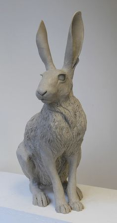 http://nickmackmansculpture.co.uk/blog/hare-sculpture