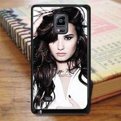 Demi Lovato Singer Idol Star Music Samsung Galaxy Note Edge Case