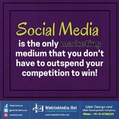 Social media gives you a leg up!