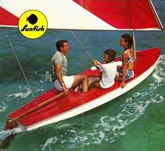 wood Sunfish Sailboat - Google Search
