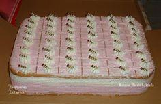 Grízes málnajoghurtos sütemény **Katt a képre, ha érdekel a receptje is** Cheesecake, Sweets, Paleo, Cookie, Home Decor, Biscuit, Decoration Home, Goodies, Room Decor