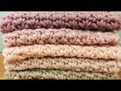 Winter Schal Häkeln   Mega Color Farbverlaufs Wolle   Super Kuschlig    einfach   Feste Machen ac8e8a0cf17