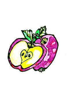 Äpplen - plommon