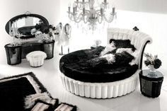 13 Best Great Bedroom Design With Round Beds By Altamoda Images - Pop-bedroom-design-by-altamoda