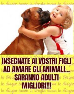 Fbsocialpet.com: il social forum per cani, gatti, cavalli, tutti gli animali Cute Baby Animals, Animals And Pets, Animal Quotes, Animal Rights, I Love Dogs, Boxer, Cute Babies, Dog Cat, Nostalgia