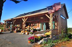 Moulton Farm Farmstand in Meredith, New Hampshire courtesy Stef Martin.
