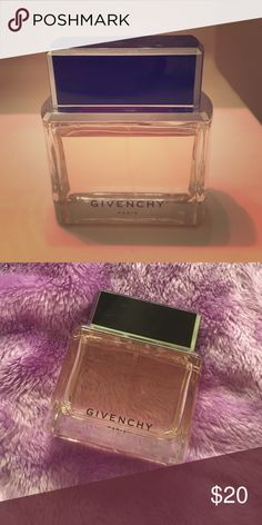 Givenchy Dahlia Noir EDP Givenchy Dahlia Noir EDP- only used this a few times as you can see from cover shot. The scent lasts a long time and I've gotten compliments the times I wore it, but it's just not for me. Size is 2.5 fl oz. (biggest size you can buy if I remember correctly). Amazing deal on almost a full bottle. Givenchy Other