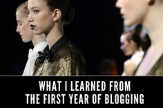 Live it, learn it - the 5 lessons you can learn from one blogger's first-year of blogging