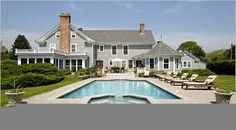 Hasil gambar untuk hamptons style homes australia Die Hamptons, Hamptons Style Homes, Cape Cod Style House, Dream Mansion, Welcome To My House, Beautiful Pools, House Beautiful, Beautiful Places, Facade House