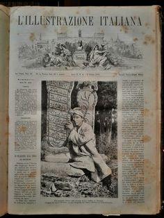 Today. #today #lillustrazioneitaliana #oldbook #book #paper #antiques #antiquebook #arsenalepiu #wunderkammer