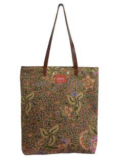 Tina Tote Bag Batik Brown