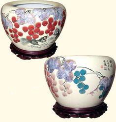 53 Best Flower Pots Fishbowls And Planters Images Ceramic Pots Planters Porcelain