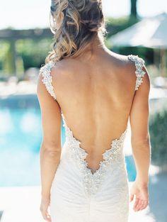 Incredible Detail on this Gown I XOXO BRIDE I #weddingdress #weddinggown
