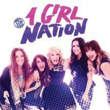 """1 GIRL NATION CD by 1 GIRL NATION.  5 Girls, from 5 different places, with 1 message. Available @ Faith4U Book- and Giftshop, Secunda, SA or email us @ """"faith4u@kruik.co.za"""""""