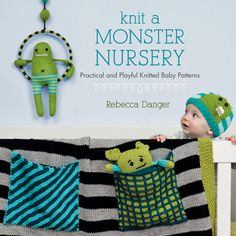 Knit A Monster Nursery Signed By Rebecca Danger by dangercrafts