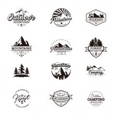 Find Outdoor Retro Emblem stock images in HD and millions of other royalty-free stock photos, illustrations and vectors in the Shutterstock collection. Lounge Logo, Camp Logo, Outdoor Logos, Luxury Logo Design, Water Logo, Free Vector Illustration, Baby Drawing, Retro Font, Adventure Quotes