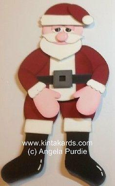 Santa Punch ART  Stampin' Up!