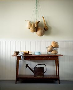 Console made from reclaimed wood by Landrum Tables in Charleston, SC. Can be made to order http://www.landrumtables.com