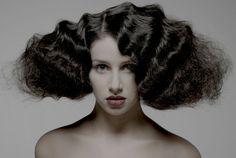 beautiful editorial hair