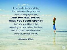 #abrahamhicks #allowing #joyful