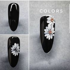 We come up with the best nail art designs. Make sure you check them out. Cute Nail Art, Cute Nails, Pretty Nails, Nail Tutorials, Design Tutorials, Spring Nails, Summer Nails, Nail Art Fleur, Sunflower Nail Art