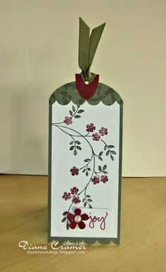 Joyful Christmas Tag by fionna51 - Cards and Paper Crafts at Splitcoaststampers