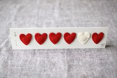 heart shaped incense packets from uguisu