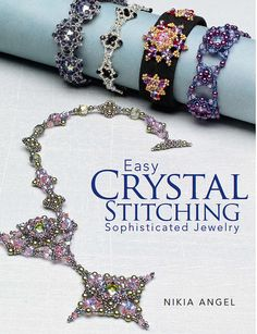 Autographed  Easy Crystal Stitching Elegant Jewelry  by Nikia, $17.95