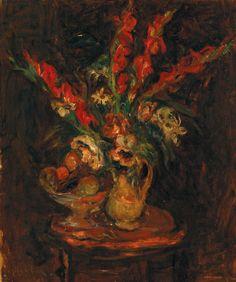 Белорусский художник Михаил Кикоин. Букет цветов (1920)