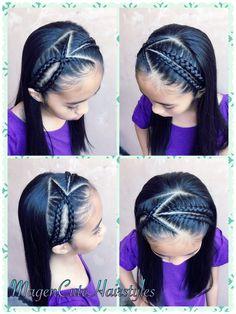Dutch Lace Braid Headband🎀 - New Site Girls Hairdos, Baby Girl Hairstyles, Kids Braided Hairstyles, Girls Braids, Headband Hairstyles, Teenage Hairstyles, School Hairstyles, Updo Hairstyle, Braided Updo