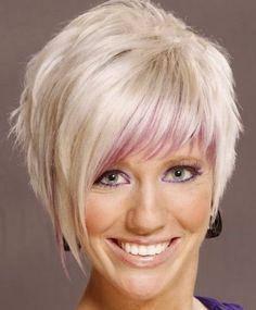 Cieniowanie włosów krótkich