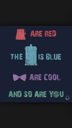 Doctor who poem