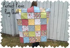 Perfect Picnic Rag Quilt