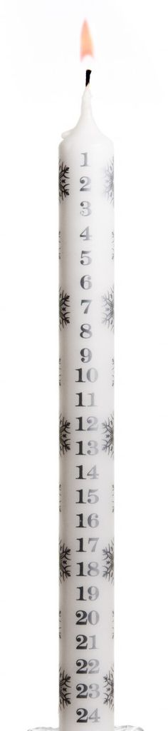 Stoneglow Scented Candles - Winter Advent Dinner Candle  (non-fragranced), £2.40 (http://www.stoneglowcandles.co.uk/shop-by-collection/advents/winter-advent-dinner-candle-non-fragranced/)